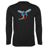 Performance Black Longsleeve Shirt-Hornet