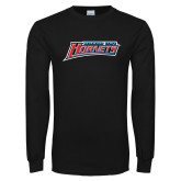 Black Long Sleeve TShirt-Delaware State Hornets
