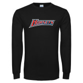 Black Long Sleeve TShirt-Hornets
