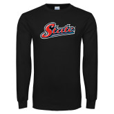 Black Long Sleeve TShirt-State