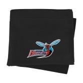 Black Sweatshirt Blanket-Delaware State Hornets w/Hornet