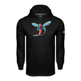 Under Armour Black Performance Sweats Team Hood-Hornet
