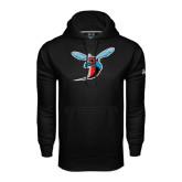Under Armour Black Performance Sweats Team Hoodie-Hornet