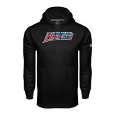 Under Armour Black Performance Sweats Team Hoodie-Delaware State Hornets