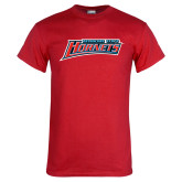 Red T Shirt-Delaware State Hornets
