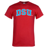 Red T Shirt-Arched DSU