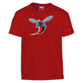 Youth Red T Shirt-Hornet