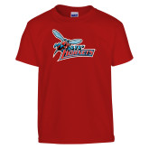 Youth Red T Shirt-Lil Hornets w/ Baby Hornet