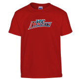 Youth Red T Shirt-Lil Hornets