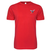 Next Level SoftStyle Red T Shirt-Hornet