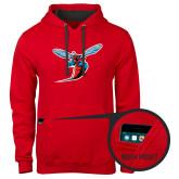 Contemporary Sofspun Red Hoodie-Hornet