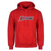 Red Fleece Hoodie-Hornets