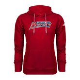 Adidas Climawarm Red Team Issue Hoodie-Delaware State Hornets