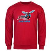 Red Fleece Crew-Alumni