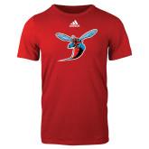 Adidas Red Logo T Shirt-Hornet