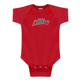 Red Infant Onesie-Lil Hornets