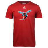 Adidas Climalite Red Ultimate Performance Tee-Hornet