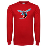 Red Long Sleeve T Shirt-Hornet
