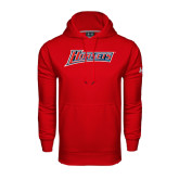 Under Armour Red Performance Sweats Team Hood-Hornets