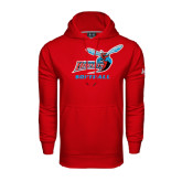 Under Armour Red Performance Sweats Team Hood-Softball
