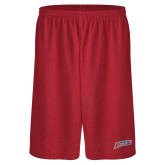 Performance Classic Red 9 Inch Short-Delaware State Hornets