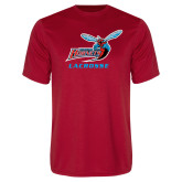 Performance Red Tee-Lacrosse
