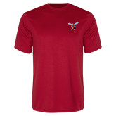 Performance Red Tee-Hornet