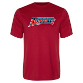 Syntrel Performance Red Tee-Delaware State Hornets