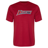 Performance Red Tee-Hornets