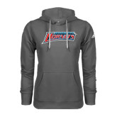 Adidas Climawarm Charcoal Team Issue Hoodie-Delaware State Hornets