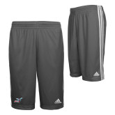 Adidas Climalite Charcoal Practice Short-Delaware State Hornets w/Hornet