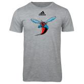 Adidas Sport Grey Logo T Shirt-Hornet