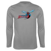 Performance Steel Longsleeve Shirt-Delaware State Hornets w/Hornet
