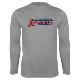 Performance Steel Longsleeve Shirt-Delaware State Hornets