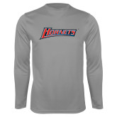 Performance Steel Longsleeve Shirt-Hornets