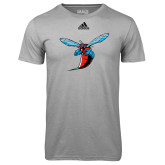 Adidas Climalite Sport Grey Ultimate Performance Tee-Hornet