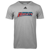 Adidas Climalite Sport Grey Ultimate Performance Tee-Delaware State Hornets