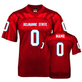 Replica Red Adult Football Jersey-Personalization
