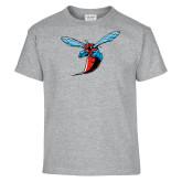 Youth Grey T-Shirt-Hornet