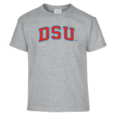 Youth Sport Grey T Shirt-Arched DSU