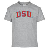 Youth Grey T-Shirt-Arched DSU