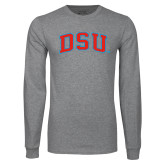 Grey Long Sleeve T Shirt-Arched DSU