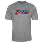 Performance Grey Heather Contender Tee-Delaware State Hornets