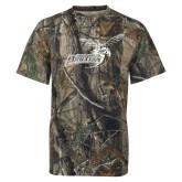 Realtree Camo T Shirt-Delaware State Hornets w/Hornet