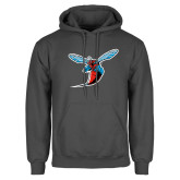 Charcoal Fleece Hoodie-Hornet