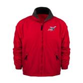 Red Survivor Jacket-Delaware State Hornets w/Hornet