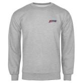 Grey Fleece Crew-Delaware State Hornets