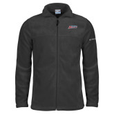 Columbia Full Zip Charcoal Fleece Jacket-Delaware State Hornets