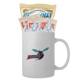 Cookies N Cocoa Gift Mug-Delaware State Hornets w/Hornet