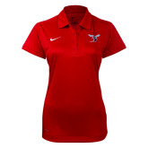 NIKE Ladies Red Dedication Polo-